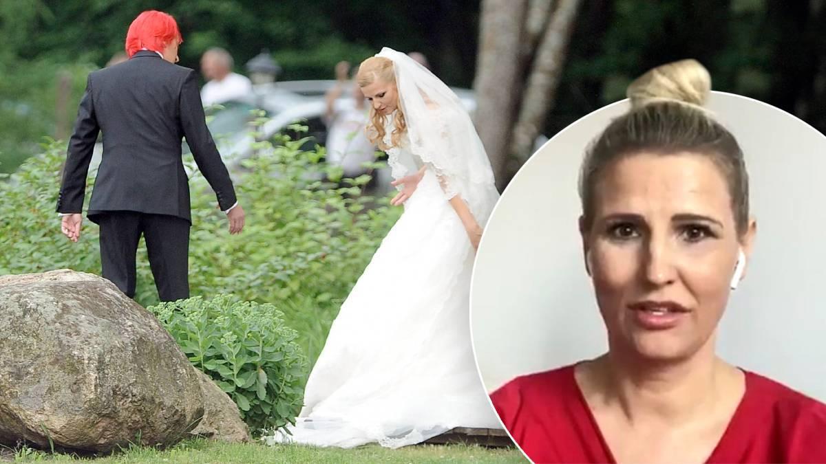 Dominika Tajner, ślub z Michałem Wiśniewskim