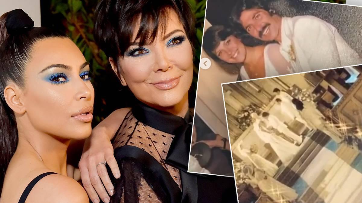 Pierwszy ślub Kris Jenner