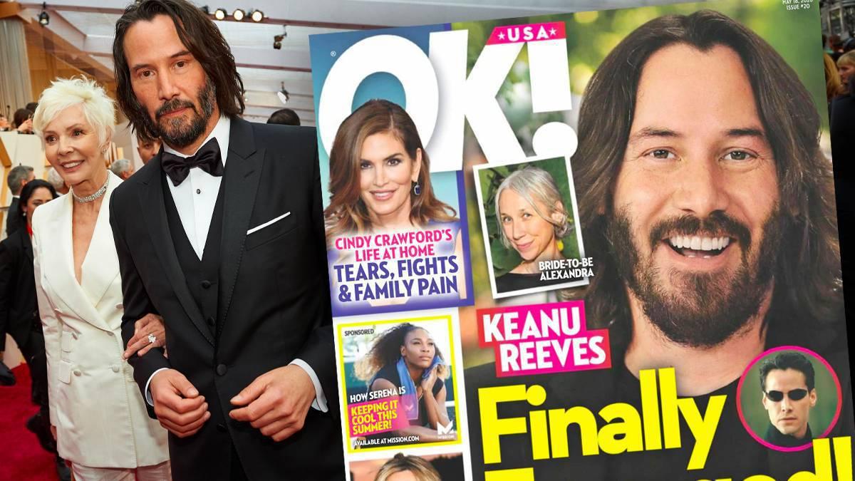 Keanu Reeves i Alexandra Grant zaręczyli się