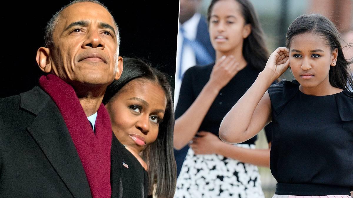 Michelle Obama, Barack, dzieci