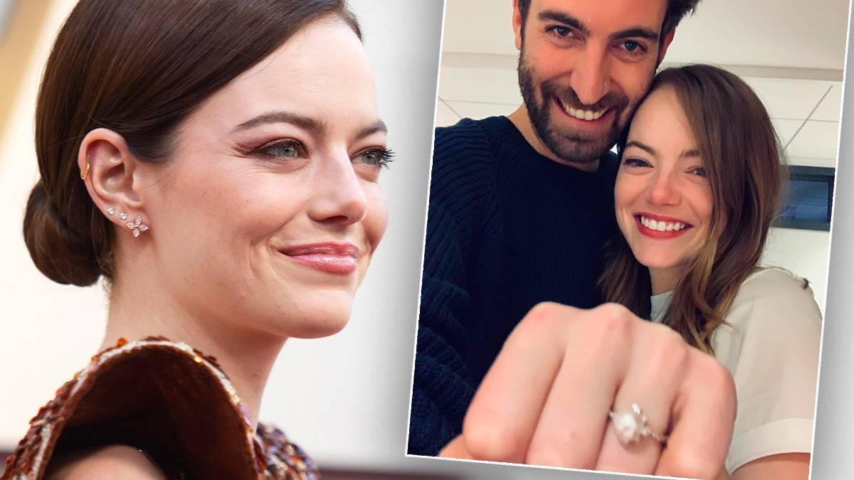 Emma Stona wzięła ślub