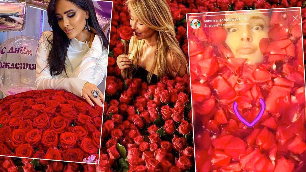 Gwiazdy kochają róże