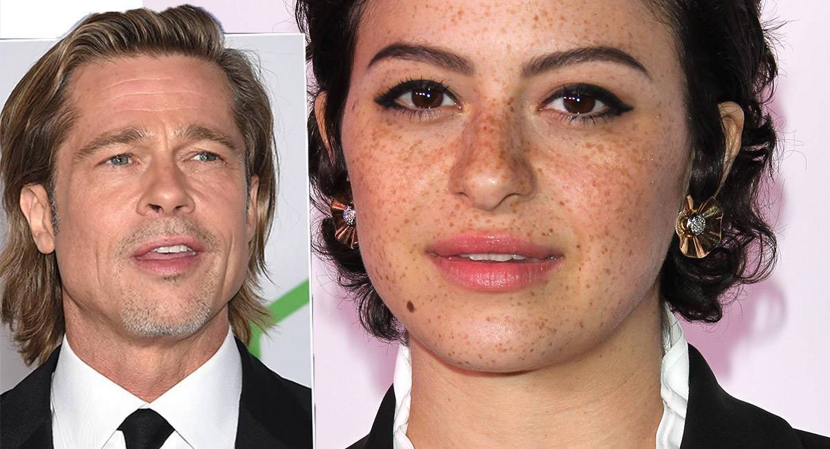 Brad Pitt i Alia Shawkat