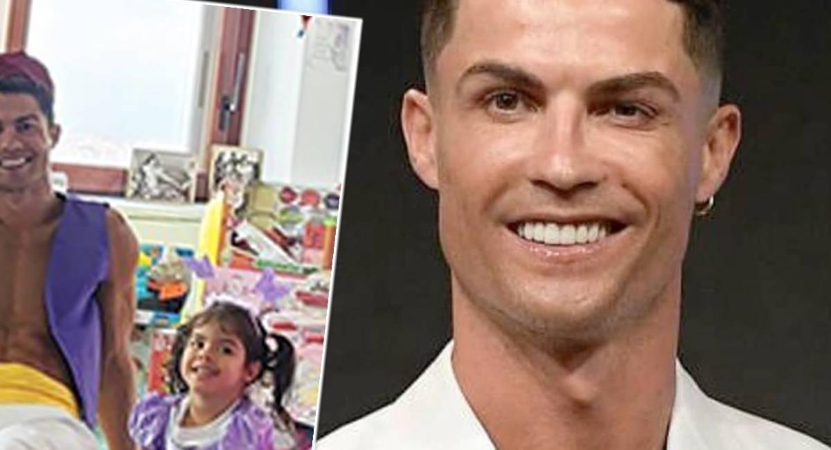 Cristiano Ronaldo - urodziny dzieci
