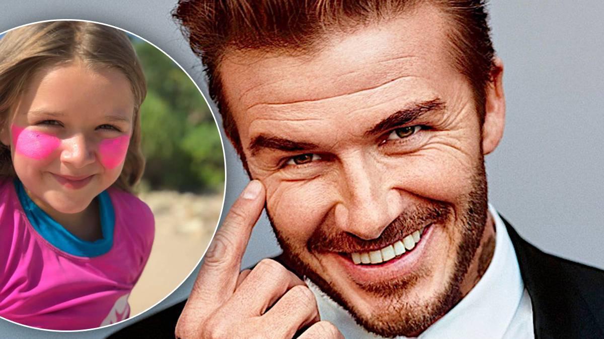David Beckham i Harper