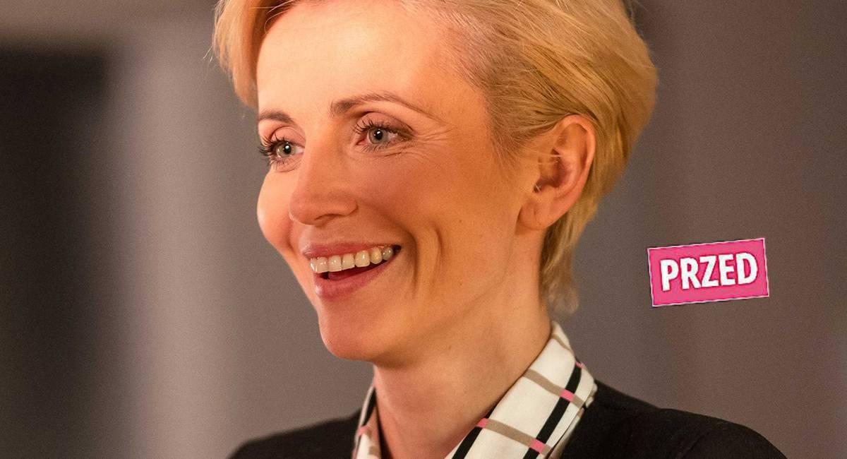 Katarzyna Zielińska - nowa fryzura