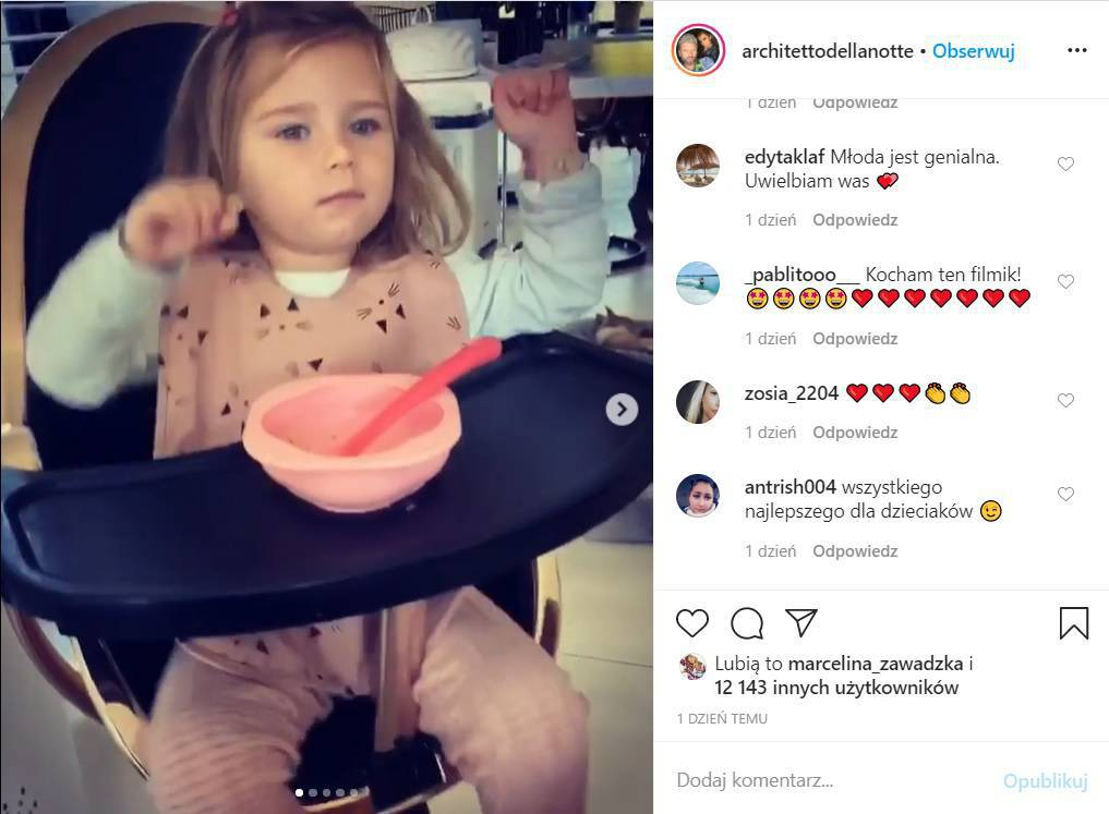Natalia Siwiec - córka Mia