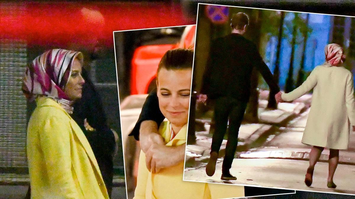 Anna Mucha z tajemniczym partnerem (fot. Jastrząb Post Exclusive)