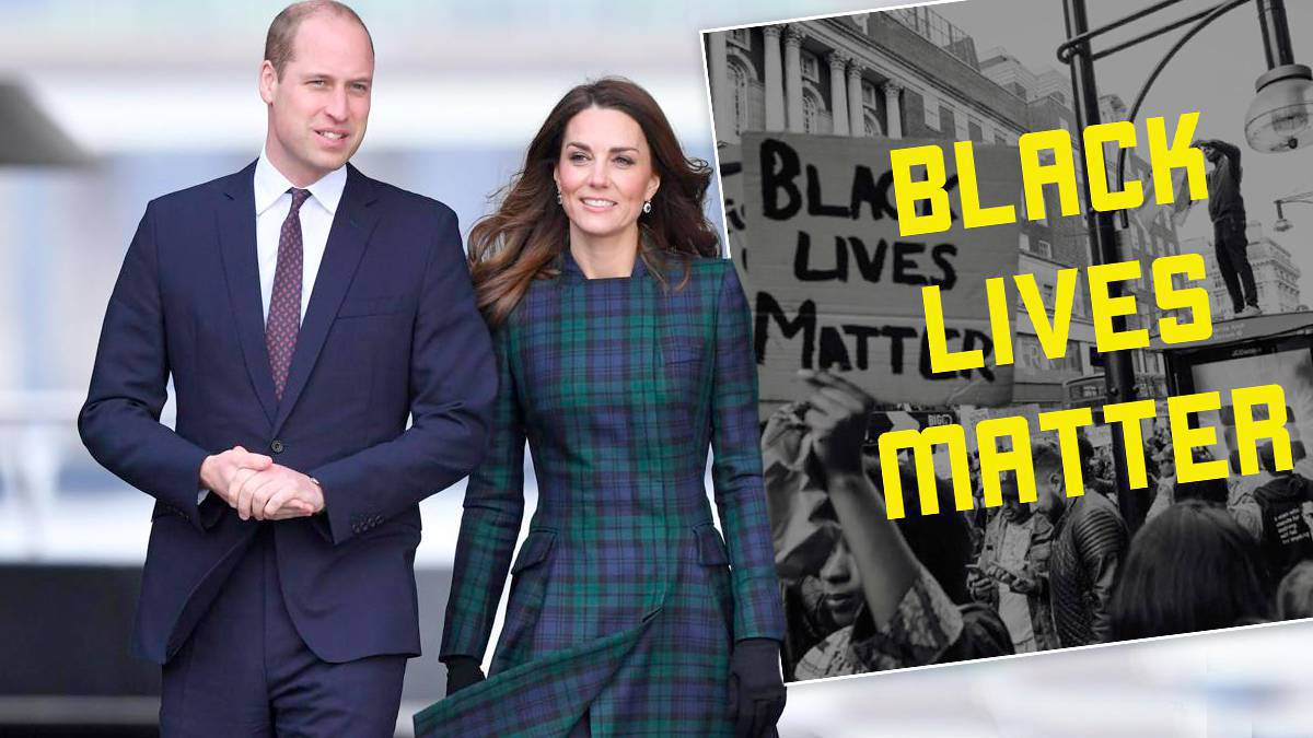 Kate i William – Black Lives Matter