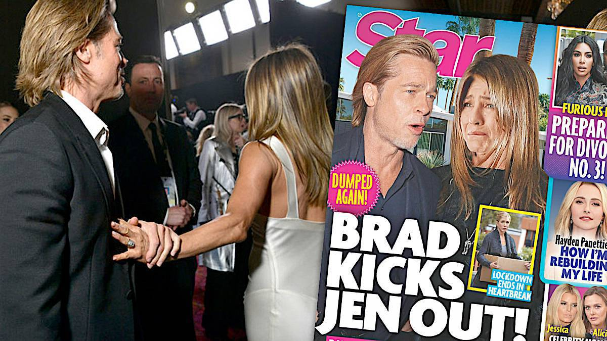 Brad Pitt wykopał Jennifer Aniston