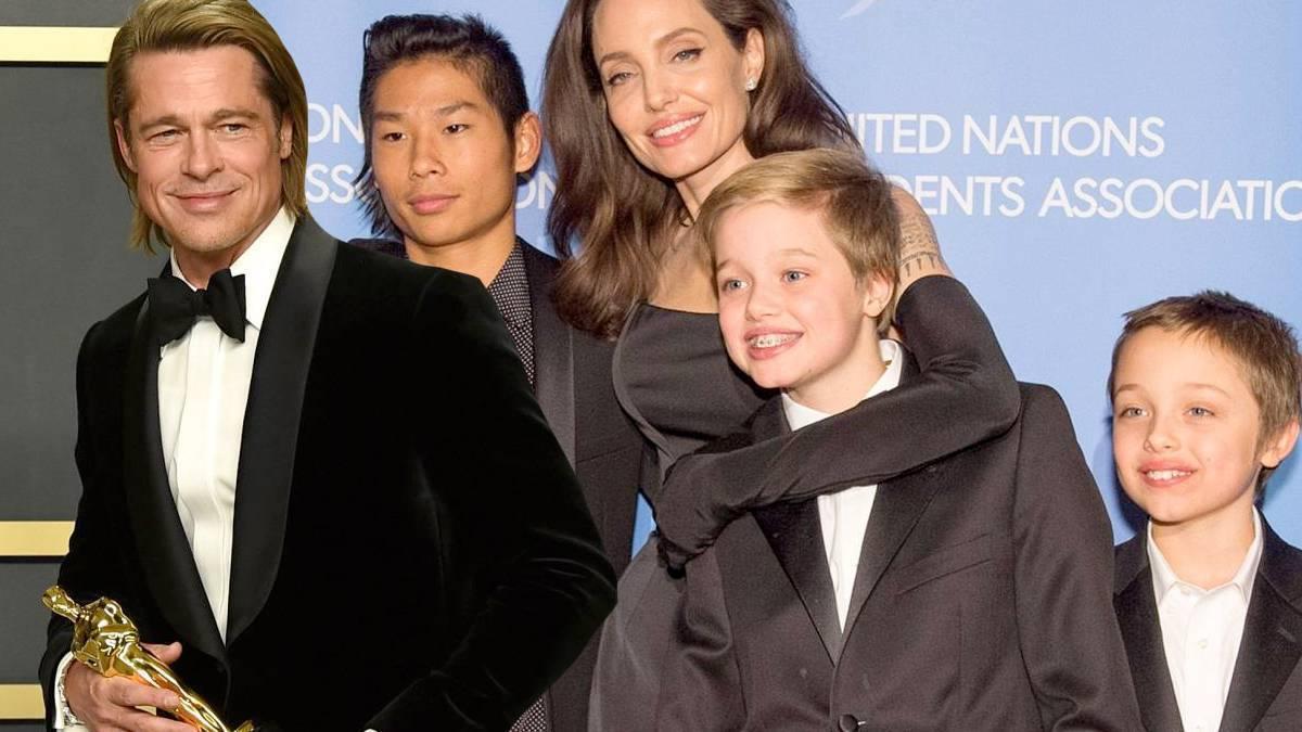 Brad Pitt, Angelina Jolie, dzieci