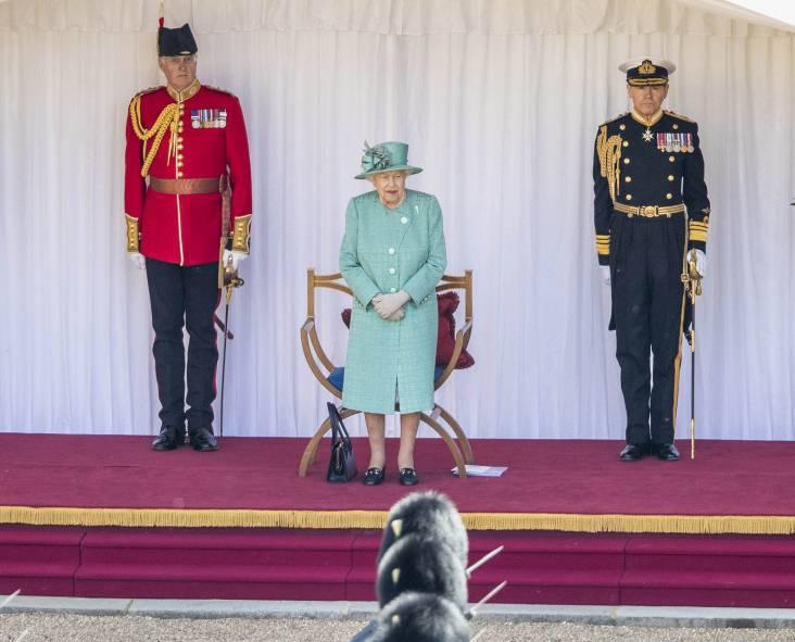 Urodziny Elżbiety II - Trooping The Colour