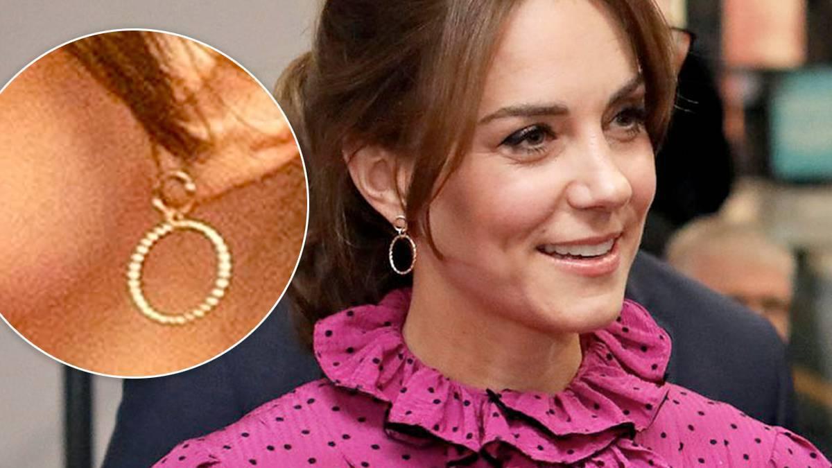 Księżna Kate – kolczyki