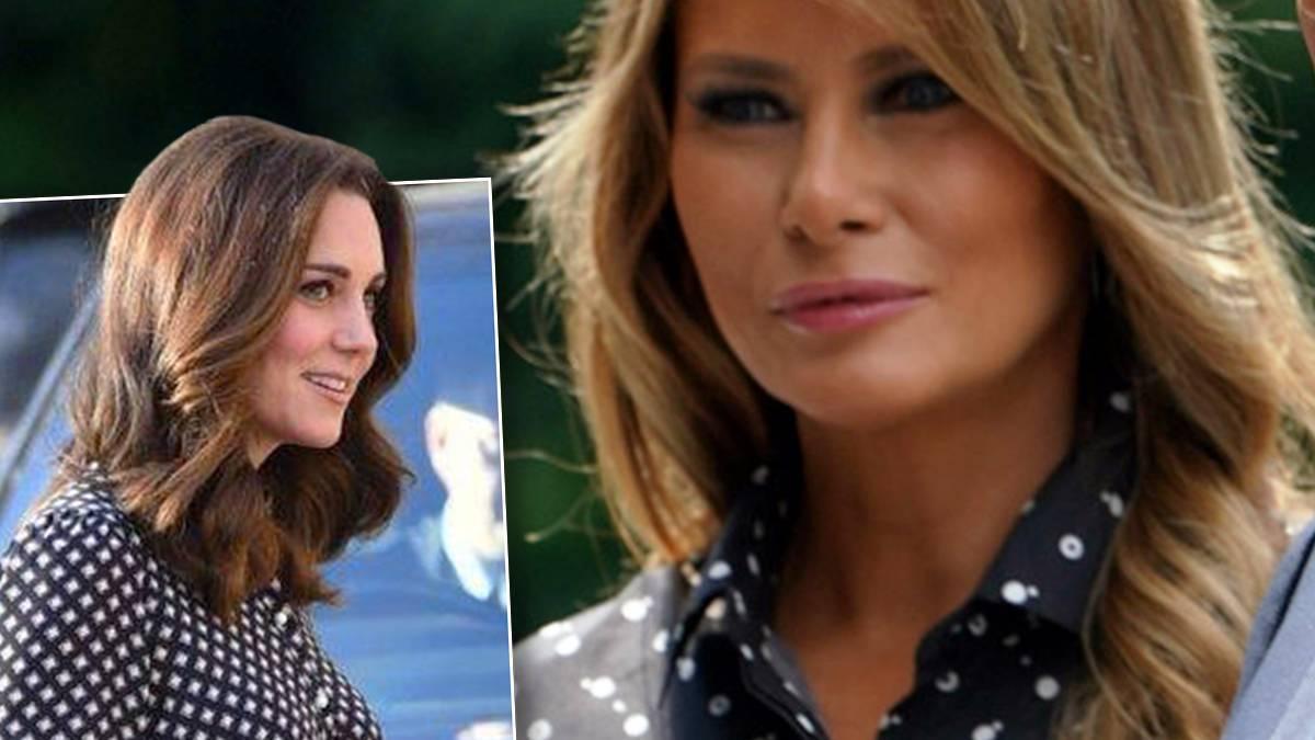 Melania Trump i księżna Kate
