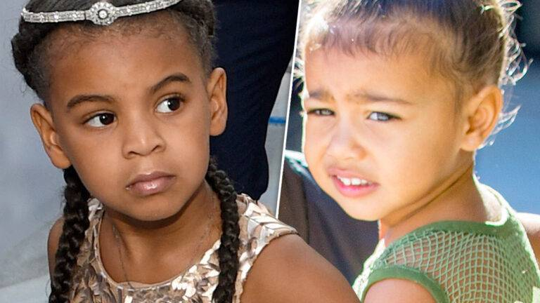 Blue Ivy, North West