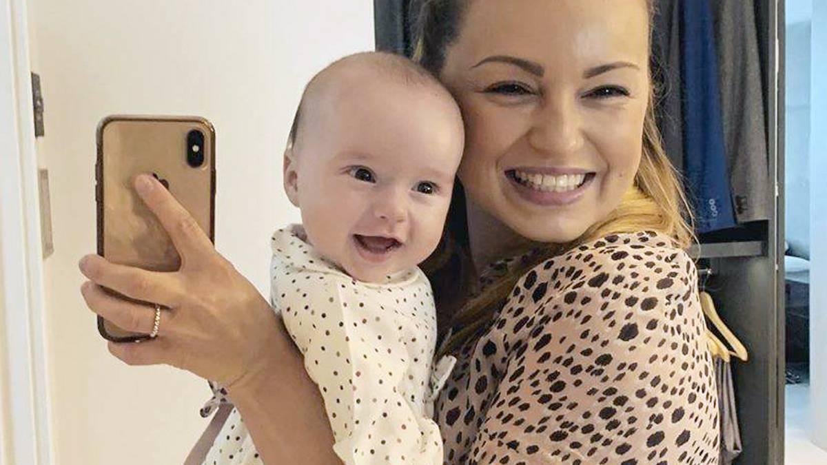 Ola Jordan z córką Ellą