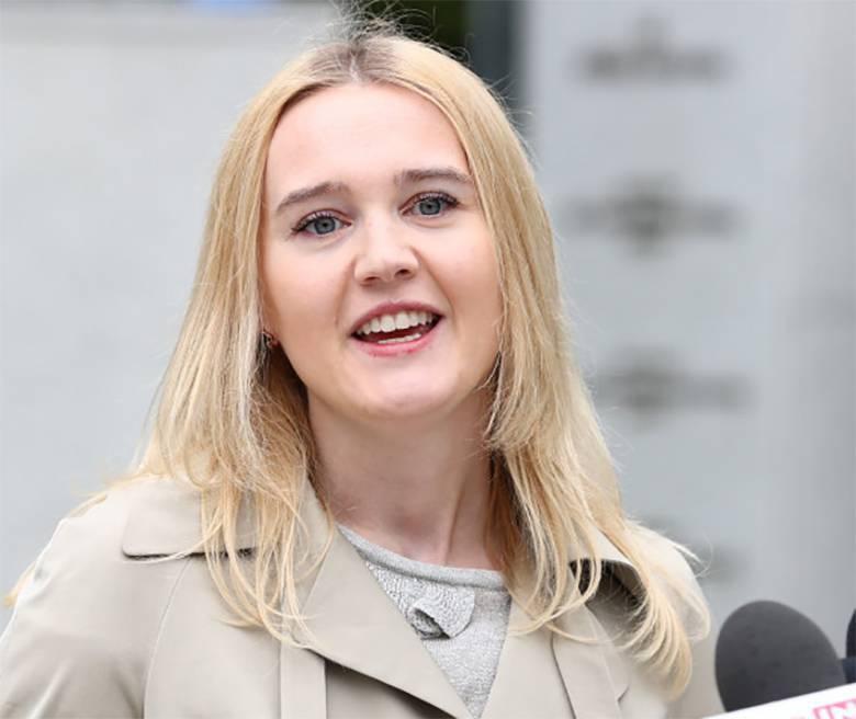 Paulina Kosiniak-Kamysz podczas konferencji prasowej