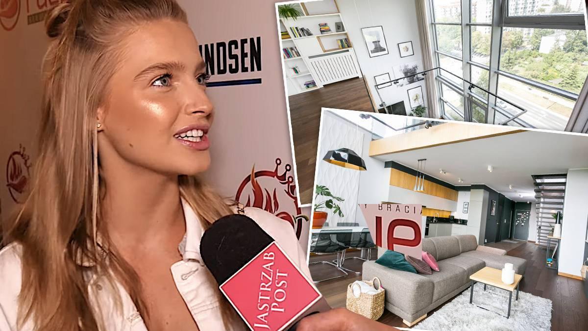 Karolina Pisarek ma dwupoziomowy penthouse