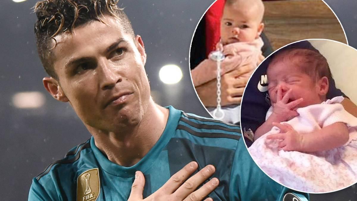 Cristiano Ronaldo córki
