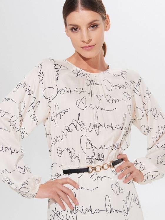 Zdjęcie (4) Kinga Rusin zbiera komplementy za swoją sukienkę z taniej sieciówki. Teraz kupicie ją na wyprzedaży