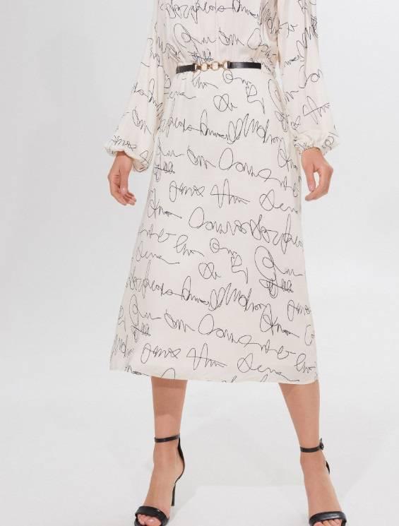Zdjęcie (5) Kinga Rusin zbiera komplementy za swoją sukienkę z taniej sieciówki. Teraz kupicie ją na wyprzedaży