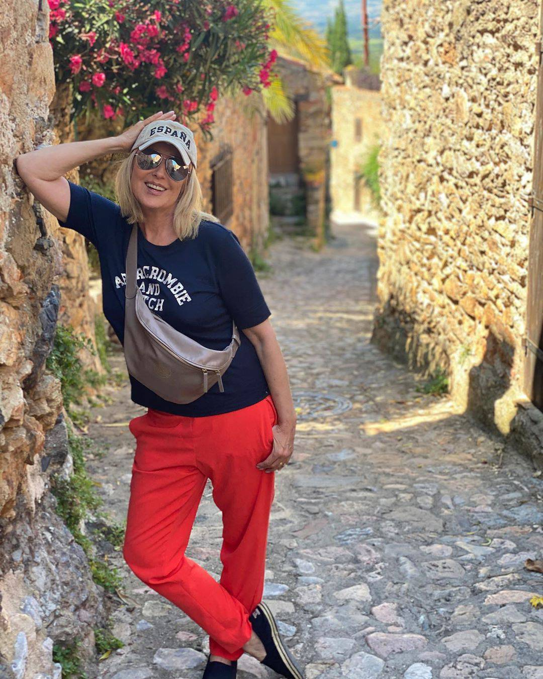 Agata Młynarska w Hiszpanii