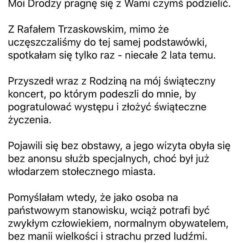 Kayah i Rafał Trzaskowski