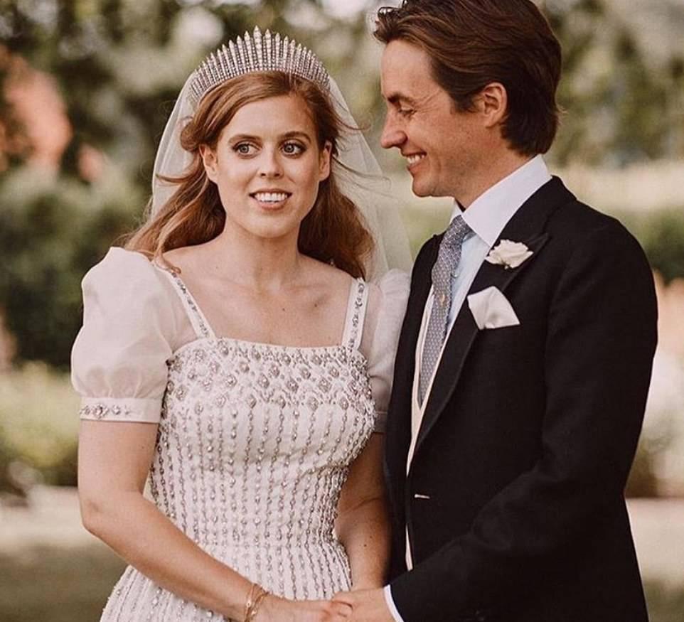 Księżniczka Beatrice i Edoardo Mapelli Mozzi – ślub