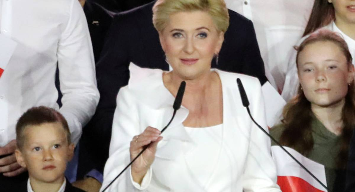 Agata Duda - przemówienie, wybory prezydenckie 2020