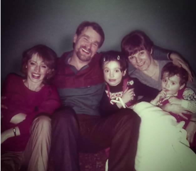 Dominika Kulczyk z rodzicami
