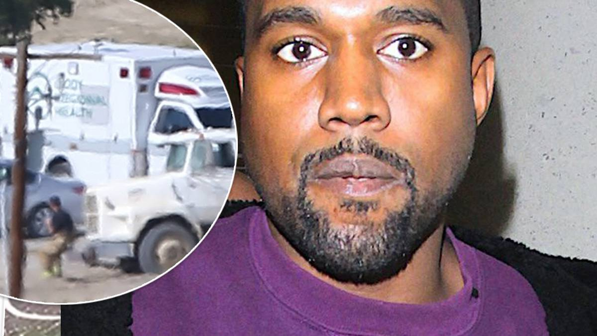 Kanye West - pogotowie na ranczo