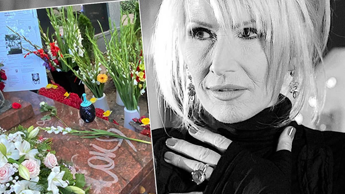 Kora - nowy grób w 2. rocznicę śmierci