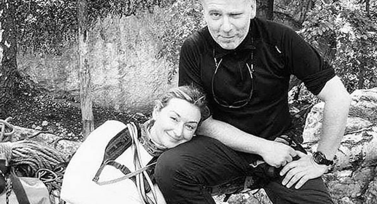 Martyna Wojciechowska i Artur Hajzer