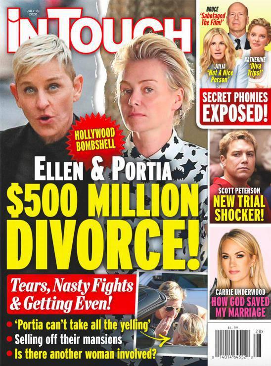 In Touch donosi o rozwodzie Ellen DeGeneres