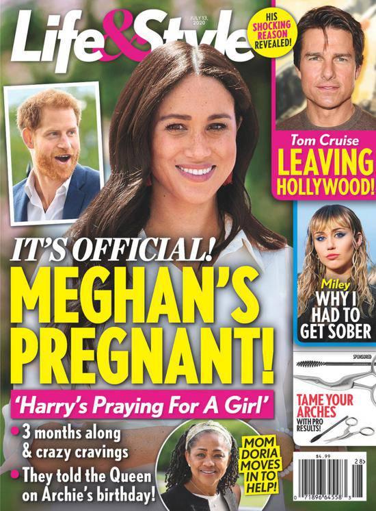 """Meghan Markle """"oficjalnie"""" w ciąży"""