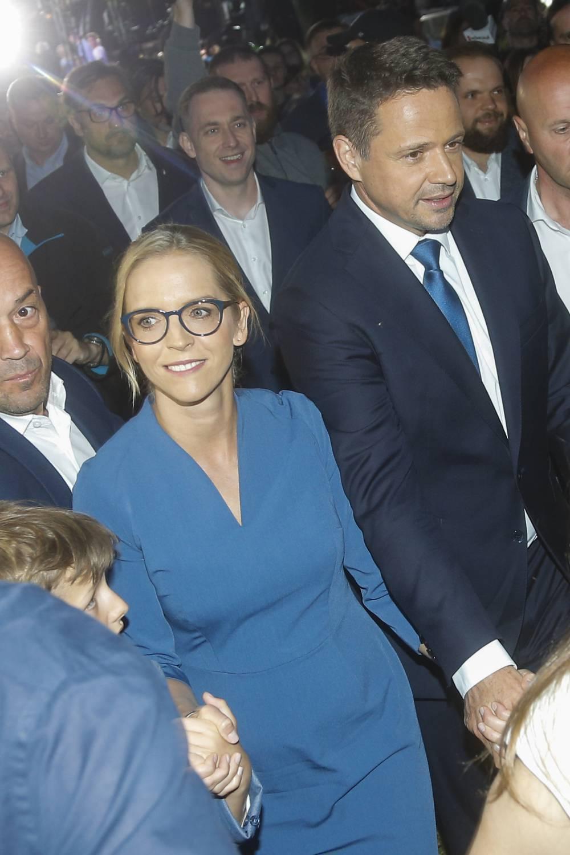 Rafał Trzaskowski, Małgorzata Trzaskowska - wybory prezydenckie 2020