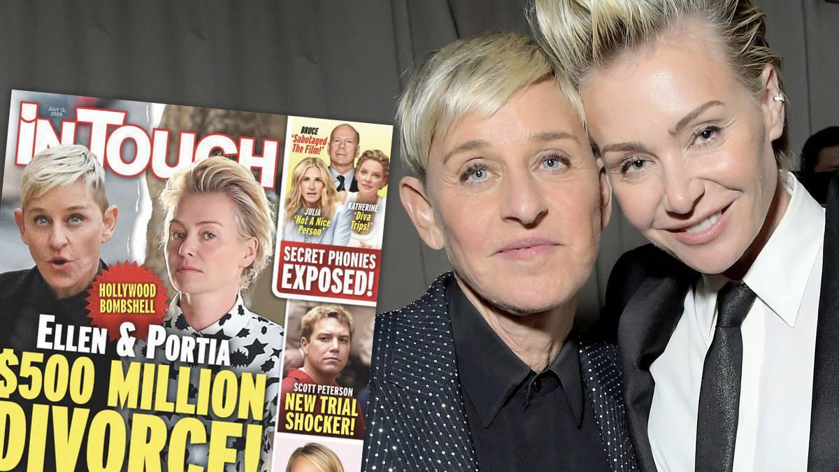 Rozwód Ellen DeGeneres
