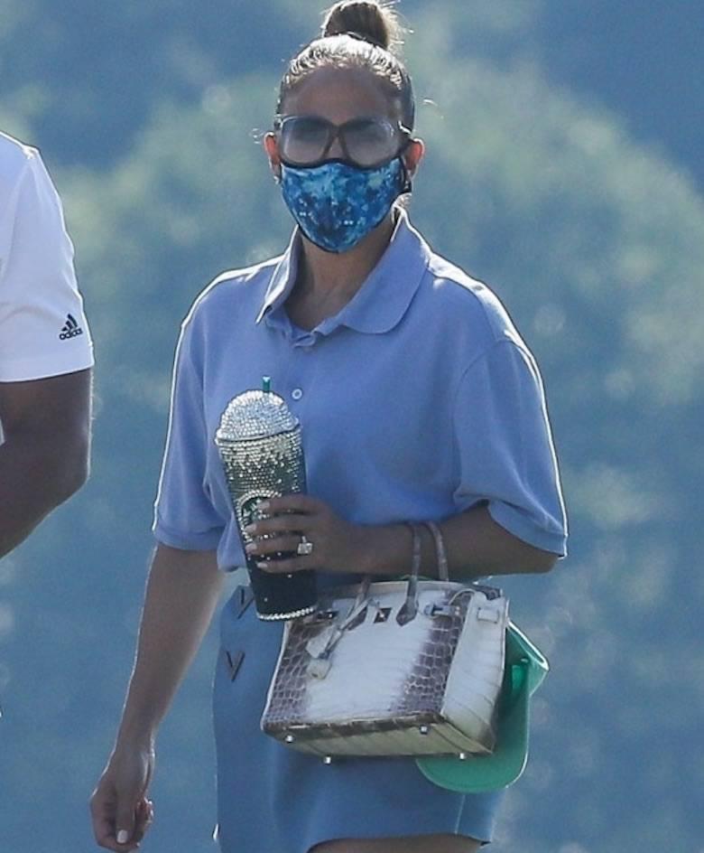 Jennifer Lopez z torebką za prawie milion złotych