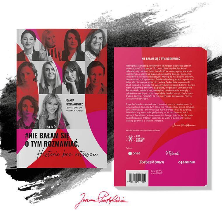 Książka Joanny Przetakiewicz
