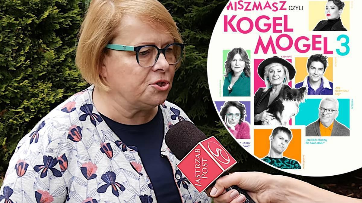 Ilona Łepkowska o błędach przy Kogel Mogel 3