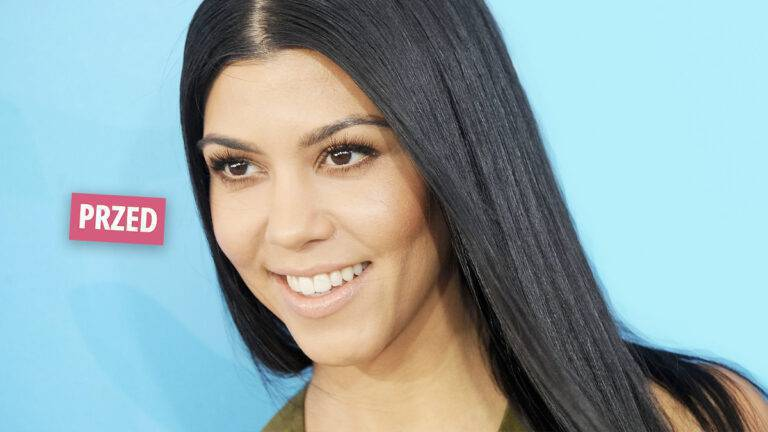 Kourtney Kardashian metamorfoza