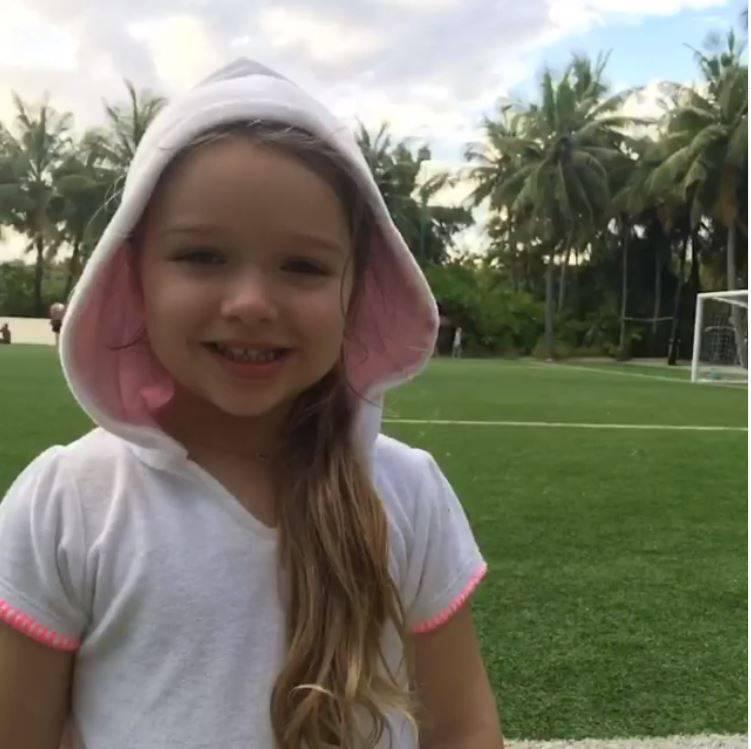 mała Harper Beckham