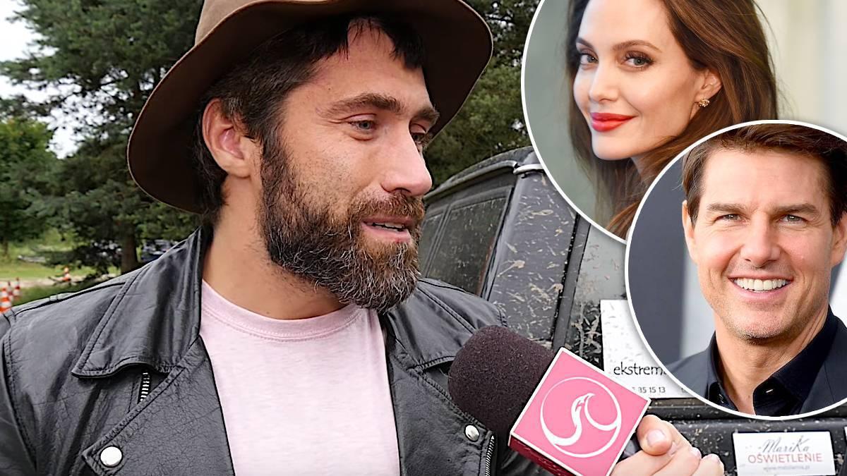 Kamil Lemieszewski o Angelinie Jolie i Tomie Curise'ie