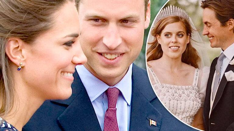 Kate i William, Beatrie z mężem
