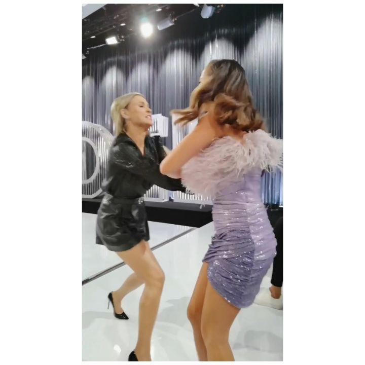 Joanna Krupa i Julia Wieniawa - bójka na planie Top Model