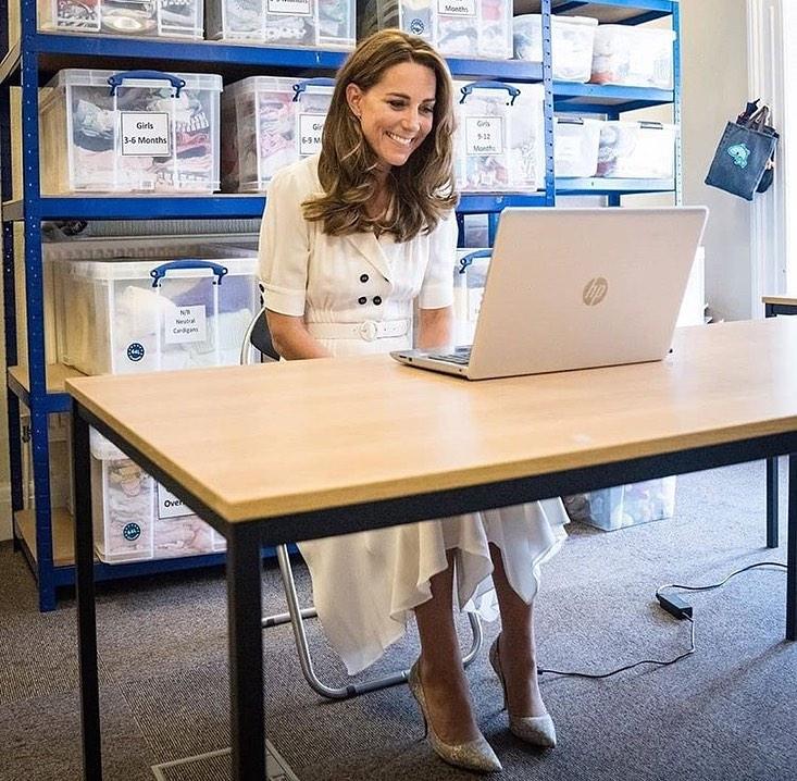 Księżna Cambridge z wizytą w fundacji Baby Basics