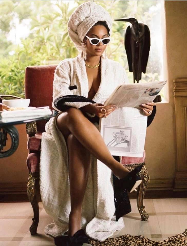 Beyonce w teledysku
