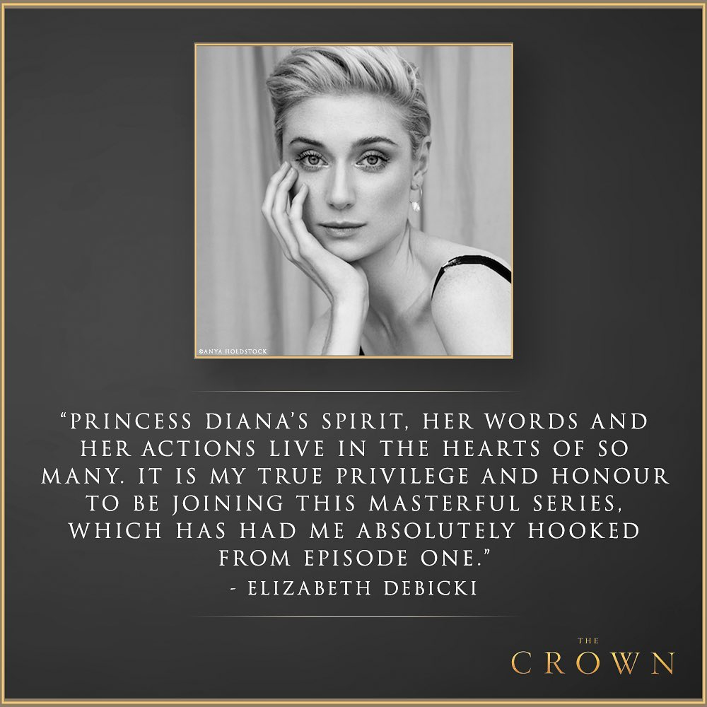 Elizabeth Debicki w The Crown