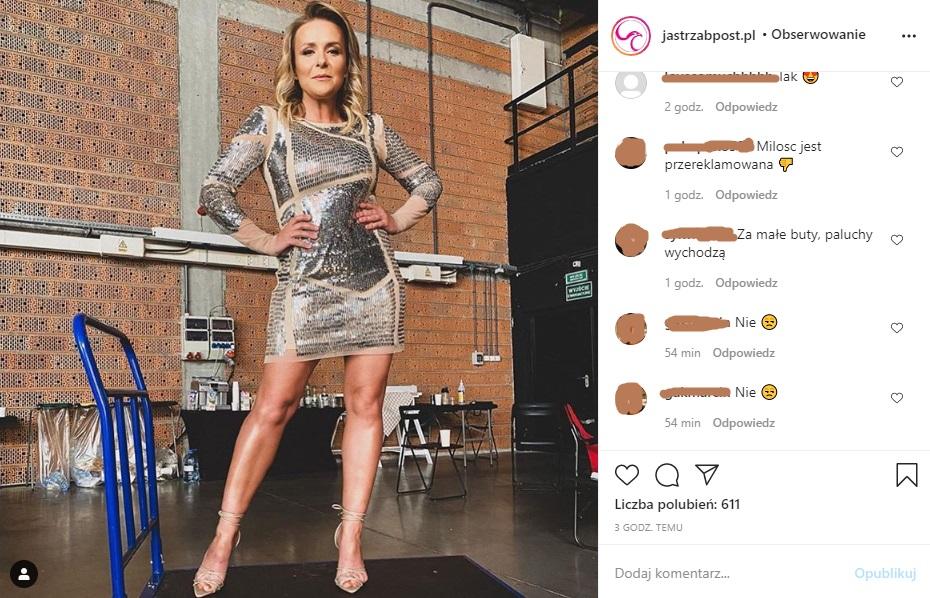Aneta Zając screen z Instagrama