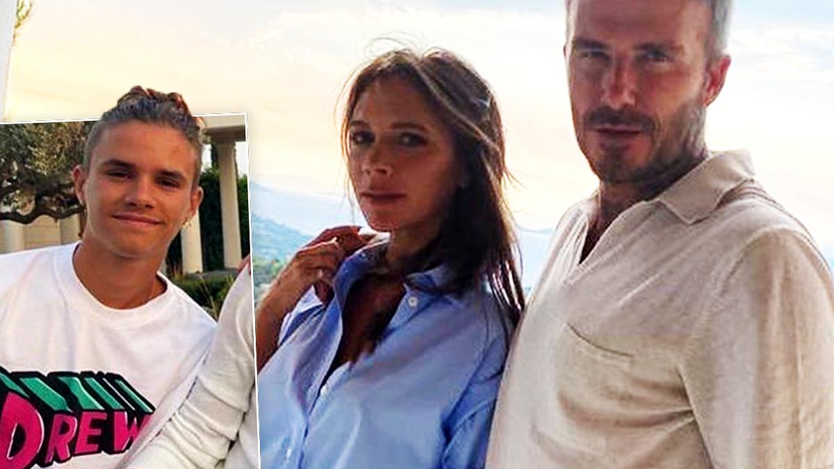 Victoria i David Beckhamowie na wakacjach